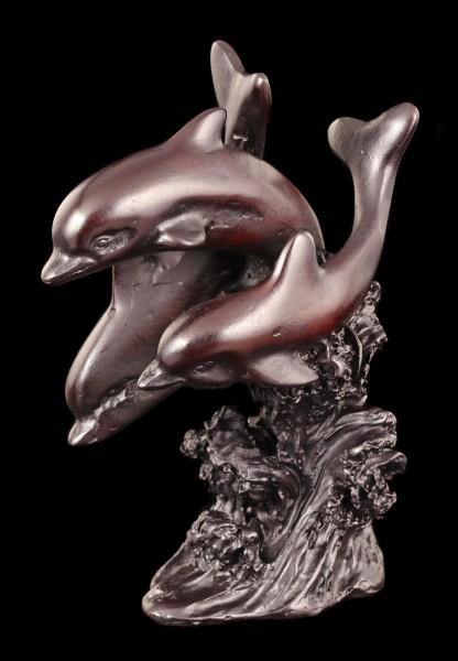 Drei Delfine - Figur