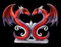 Drachen Figur - Herz Dragons Devotion