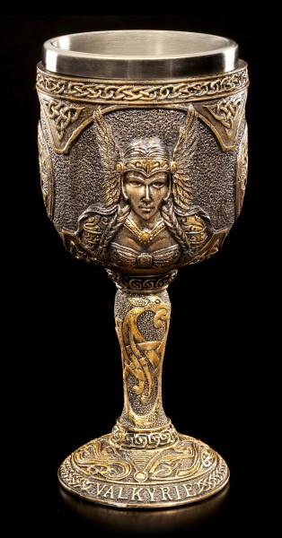 Wikinger Kelch - Nordische Göttin Walküre