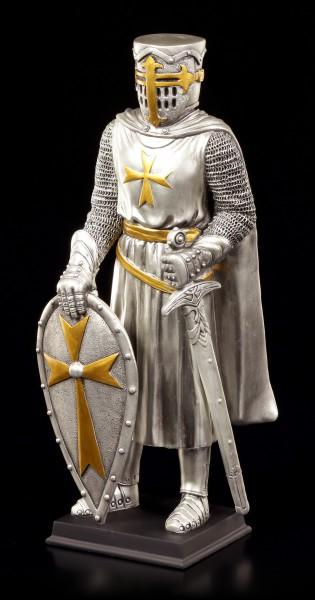 Ritter Figur - Malteser mit Schild und Schwert