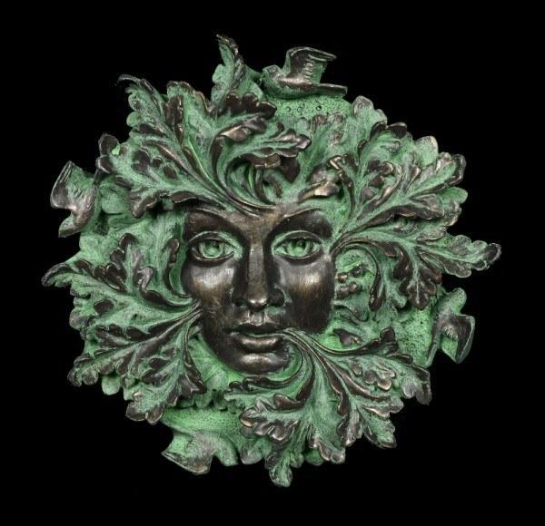 Garten Wandrelief - Grüner Geist