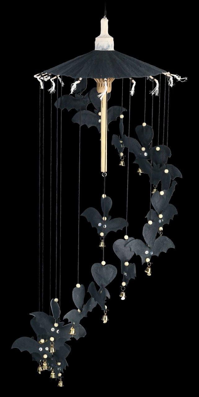 Regenschirm Mobile - Fledermäuse