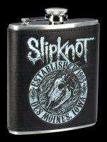 Slipknot Hip Flask - Flaming Goat