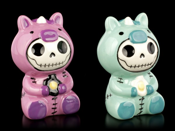 Furry Bones Salt and Pepper Shaker - Uni