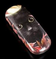 Brillenetui mit Katze - Autumn Cat