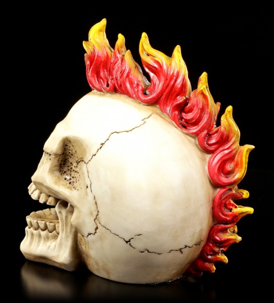 Totenkopf - Flammen Punk