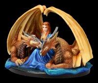Anne Stokes Figur - Drachen Fierce Loyalty