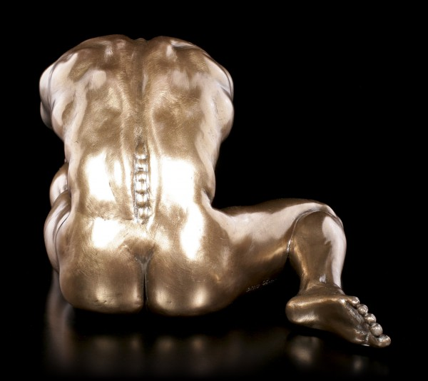 Male Nude Figurine - On Ground for Stretching