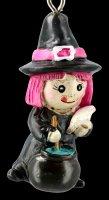 Schlüsselanhänger - Hexe Spooky