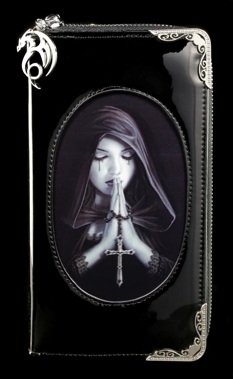 Lack Geldbörse mit 3D Motiv - Gothic Prayer