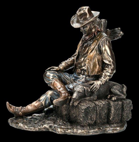 Cowboy Figurine - A Faithful Companion