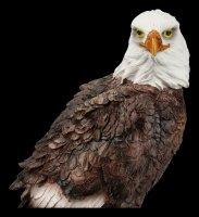 Bald Eagle Figurine on Branch