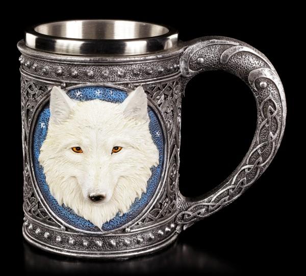 Fantasy Krug - Einsamer Wolf groß