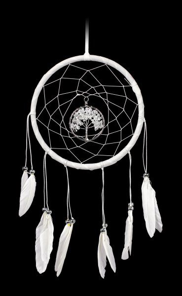 Dreamcatcher - Dream Tree - white