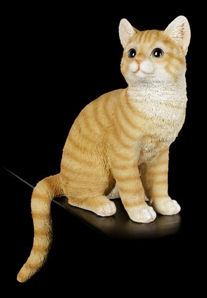 Shelf Sitter - Sitting Tabby Cat Figurine