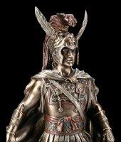 Alexander der Große Figur mit Schwert