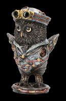 Steampunk Figurine - Owl Dixie Cup