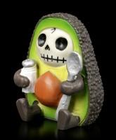 Furry Bones Figur - Hass Avocado