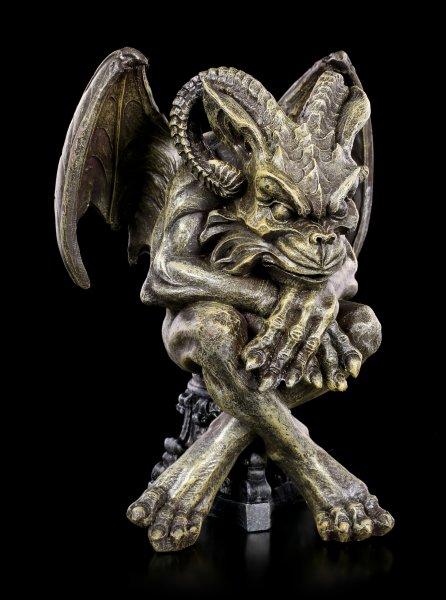 Gargoyle Figur - Listiger Teufel