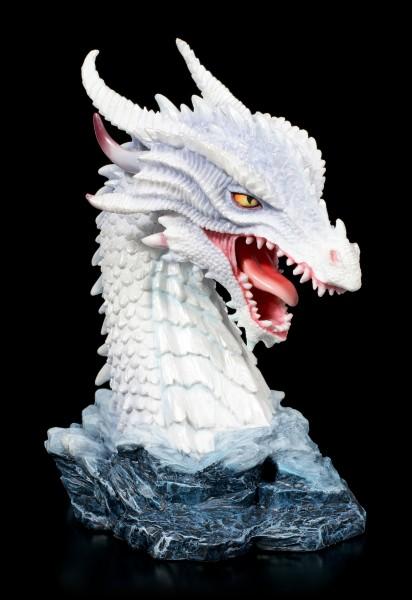 Drachen Büste - White Fire