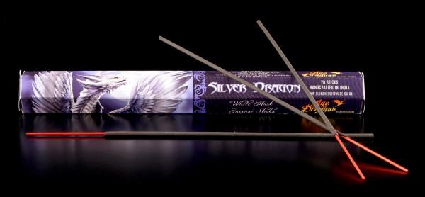 Räucherstäbchen weißer Moschus - Silver Dragon
