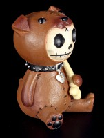 Rocky - Large Furry Bones Figurine