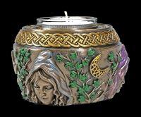 Teelichthalter - Trinity Dreifaltige Göttin