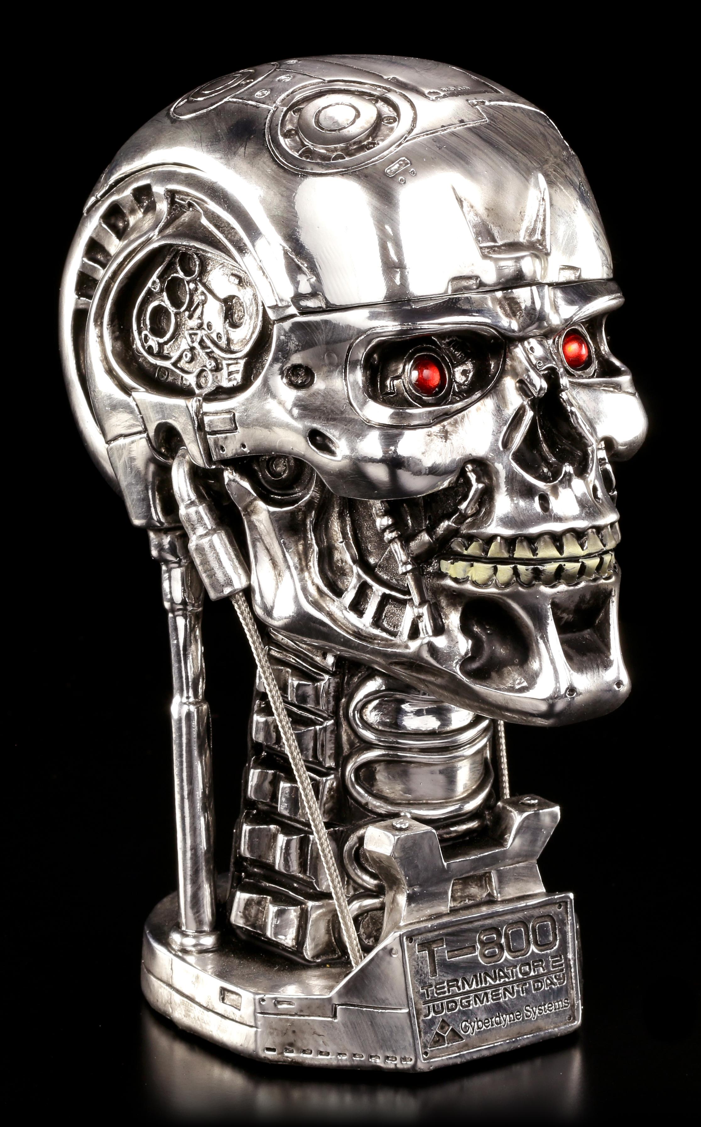 terminator t 800 skull box. Black Bedroom Furniture Sets. Home Design Ideas