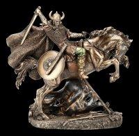 Viking Figurine on Horse - Fighting