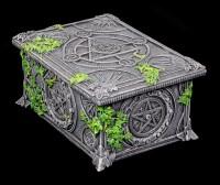 Tarotkarten Schatulle - Wicca Pentagramm