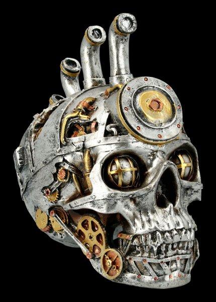 Steampunk Skull - Pipe Dream