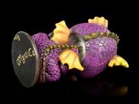 Purple Dragon Bobblehead Figurine