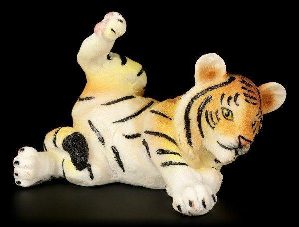 Tiger Baby Figurine - Playing on the Floor