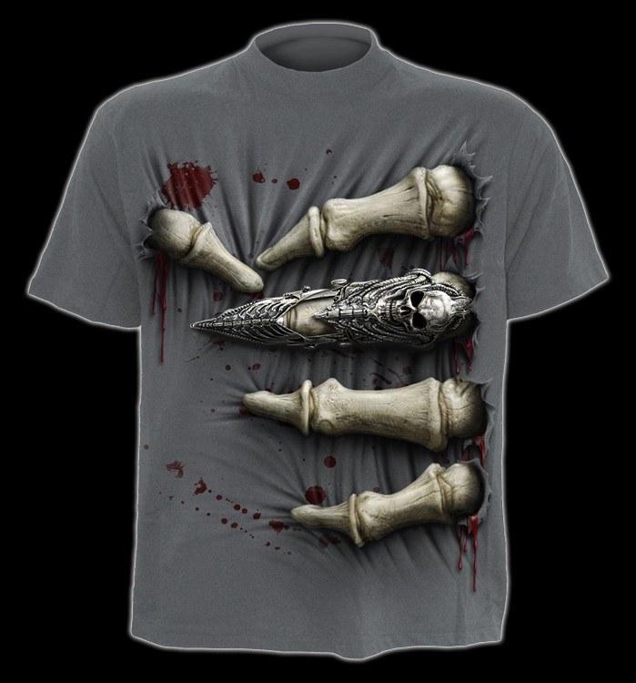 T-Shirt Fantasy - Skeletthand - Death Grip
