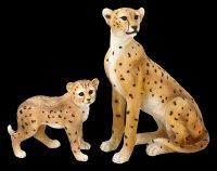 Garden Figurine - Leopard Baby