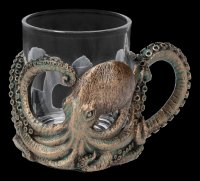 Glaskrug - Oktopus