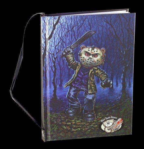 Hardcover Notizbuch - Bad Taste Bears - Jason