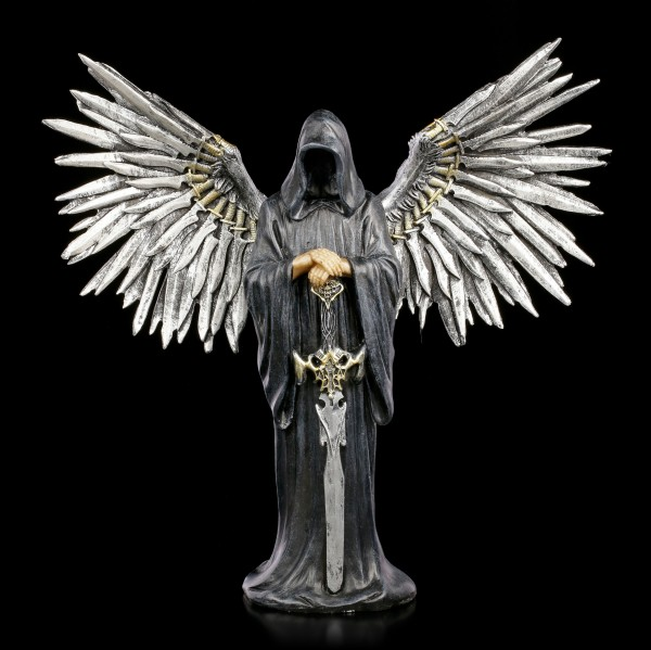 Reaper Figurine with Sword Wings - Death by the Sword