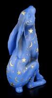 Hare Figurine with Moon and Stars - Lepus