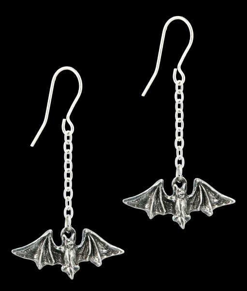 Alchemy Gothic Dropper Earrings - Kiss the Night