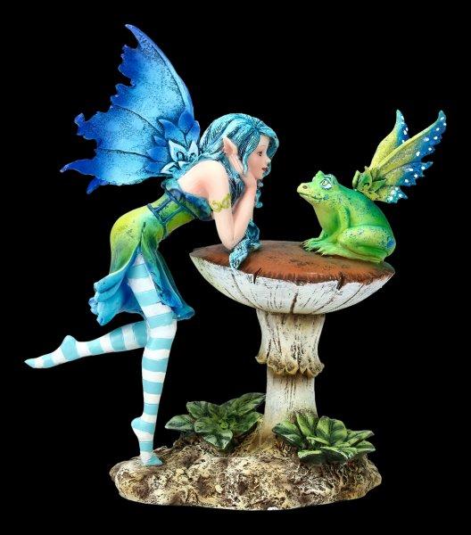 Fairy Figurine - Frog Gossip