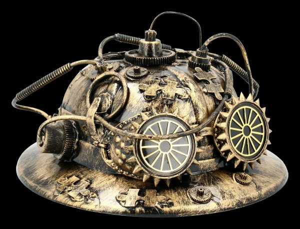 Steampunk Helmet - Fire Fighter