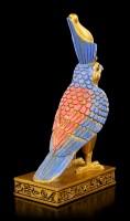 Ägyptische Figur - Horus in goldfarben