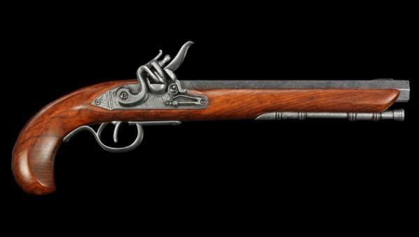 Steinschloßpistole - Kentucky Pistole