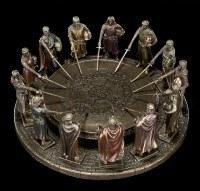 Tafelrunde - König Arthur mit 12 Rittern
