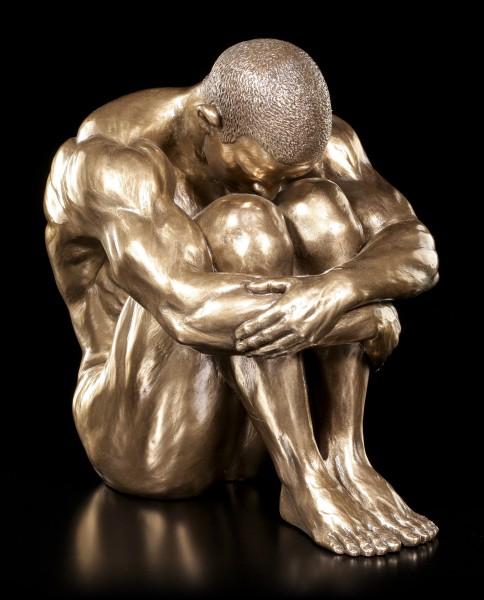 Male Nude Figurine - Reflection