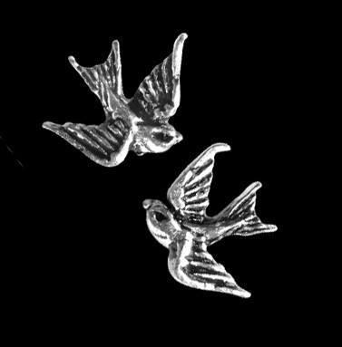 Earrings - Swallow Studs (Pair) - Alchemy UL17