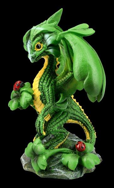 Dragon Figurine - Lucky Clover