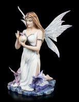 Fairy Figurine - Larisa with Dragon Babies