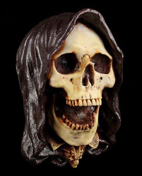 Grim Reaper - Kuttenmann lachend - Wanddeko